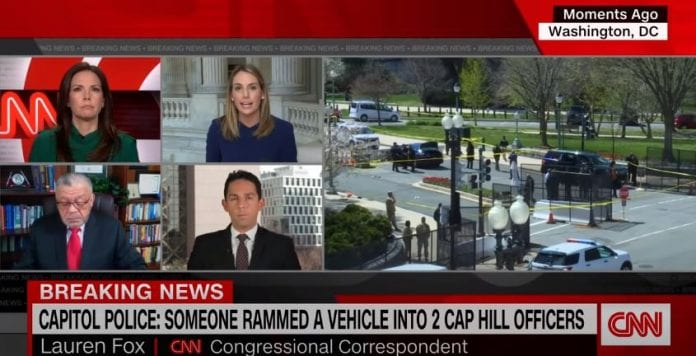 US Capitol on lockdown due to an external security threat