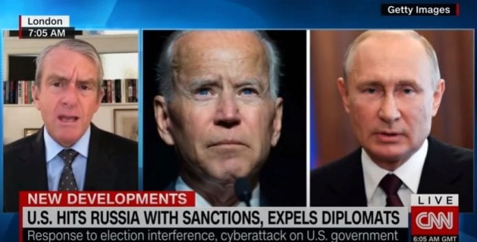 US hits Russia with sanctions, expels diplomats