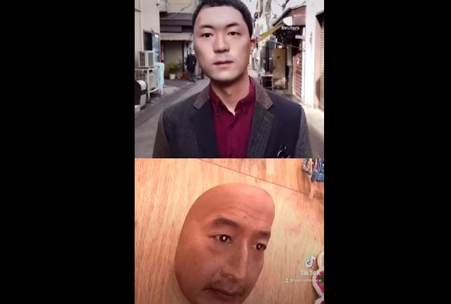 Would you wear a mask with someone else's face?