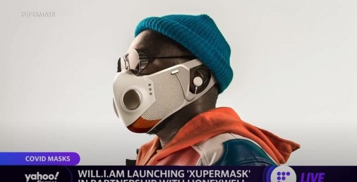 will.i.am is launching the 'Xupermask' in partnership with Honeywell