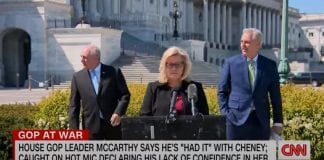 Hear what McCarthy said about Liz Cheney on hot mic