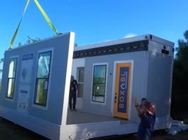 Check out this FOLDABLE $50K tiny house