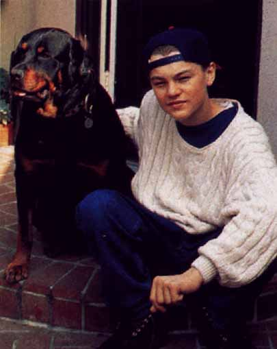 Leonardo DiCaprio is a Rottweiler owner